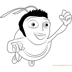 Wow Free Coloring Page for Kids