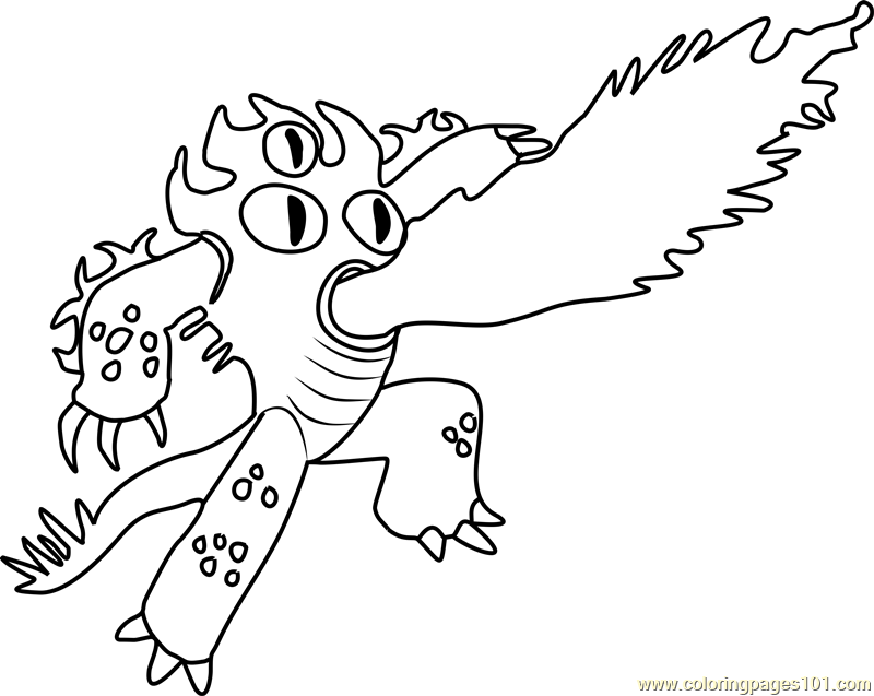 Fred Coloring Page