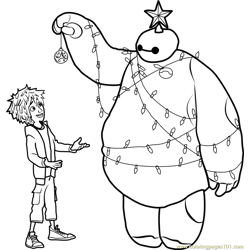 Hiro and Baymax Christmas