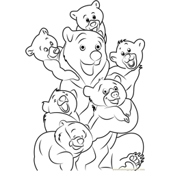 Brother Bear in Group