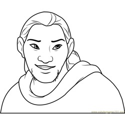 Sitka coloring page