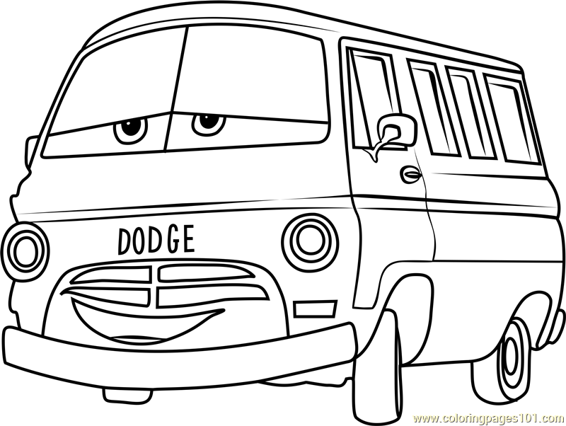 Dusty Rust Eze From Cars 3 Coloring Page Free Cars 3 Coloring