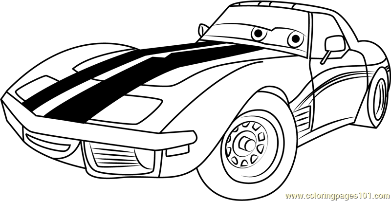 cars disney coloring page