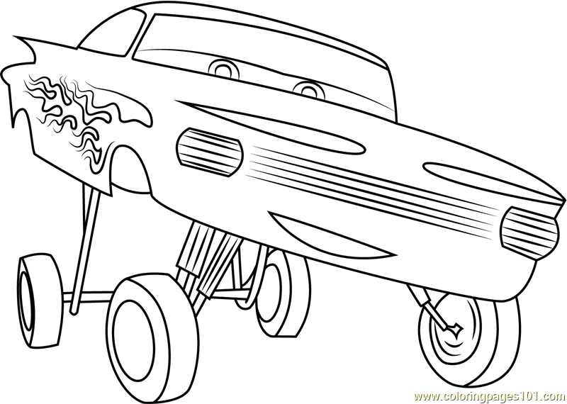 cars toons coloring pages - photo#11