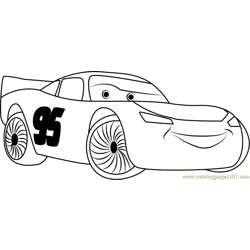 Happy Cars Free Coloring Page for Kids