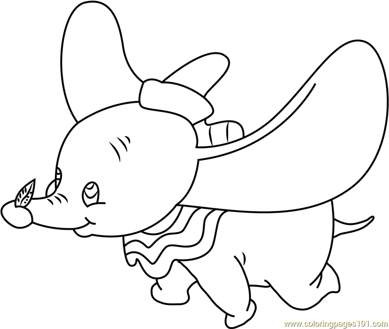 Looking Up Coloring Page