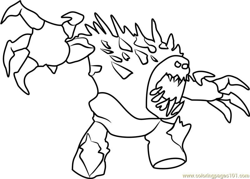 Angry Marshmallow Coloring Page - Free Frozen Coloring Pages ...