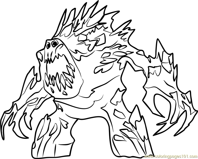 Marshmallow Coloring Page For Kids - Free Frozen Printable Coloring Pages  Online For Kids - ColoringPages101.com Coloring Pages For Kids