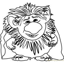 Grand Pabbie Free Coloring Page for Kids