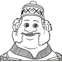 Oaken Free Coloring Page for Kids