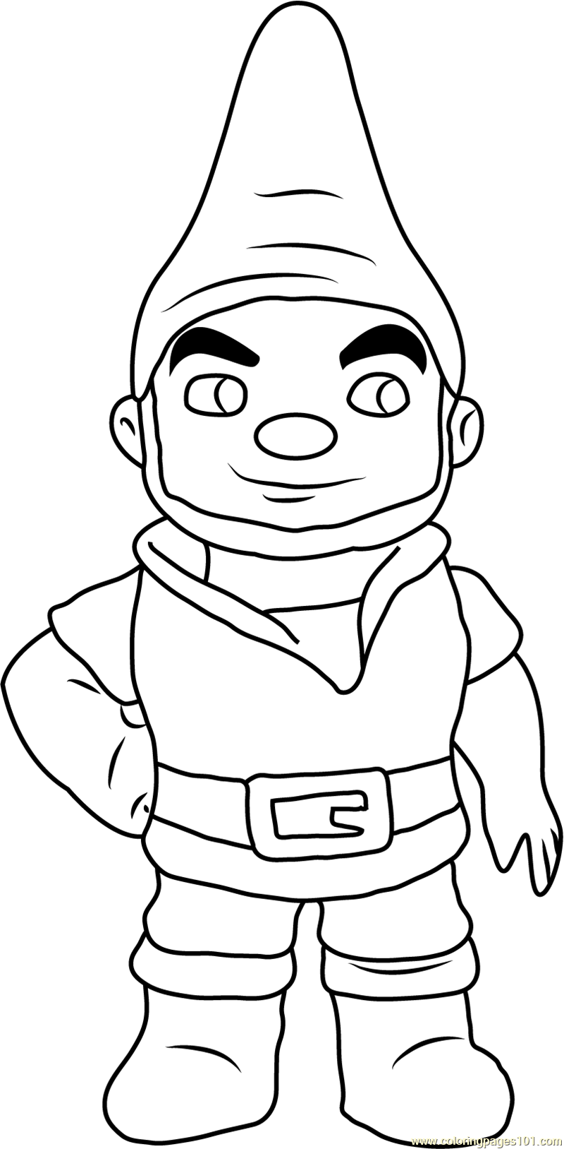 Gnomeo Coloring Page - Free Gnomeo & Juliet Coloring Pages ...