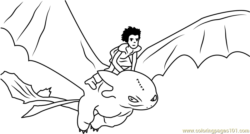 hiccup horrendous flying with toothless