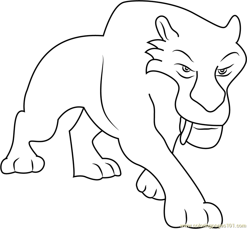 Angry Diego Coloring Page