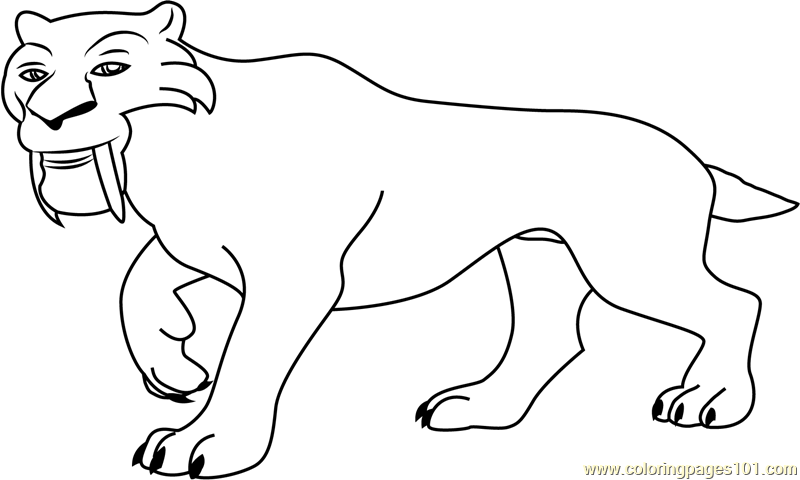 Diego Walking Coloring Page