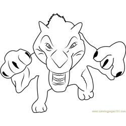 Diego Attacking coloring page
