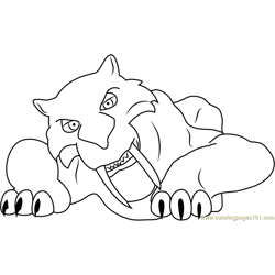 Diego Free Coloring Page for Kids