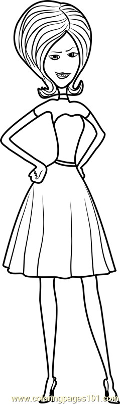 Scarlet Overkill Coloring Page - Free Minions Coloring ...