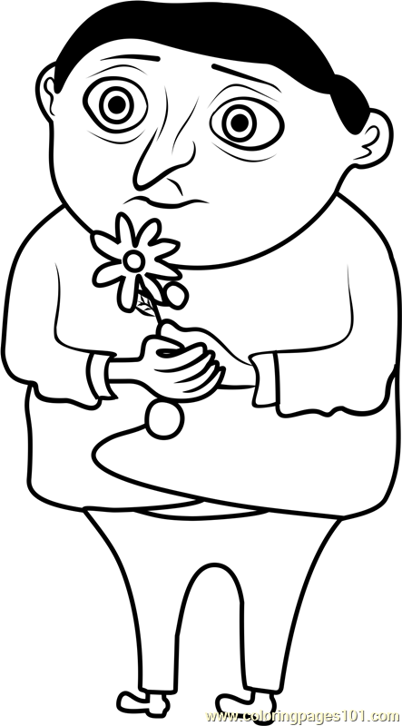 Young Gru Coloring Page