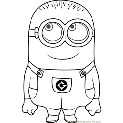 Phil Free Coloring Page for Kids