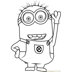 Tom Free Coloring Page for Kids