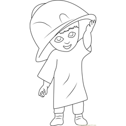 Mary Free Coloring Page for Kids