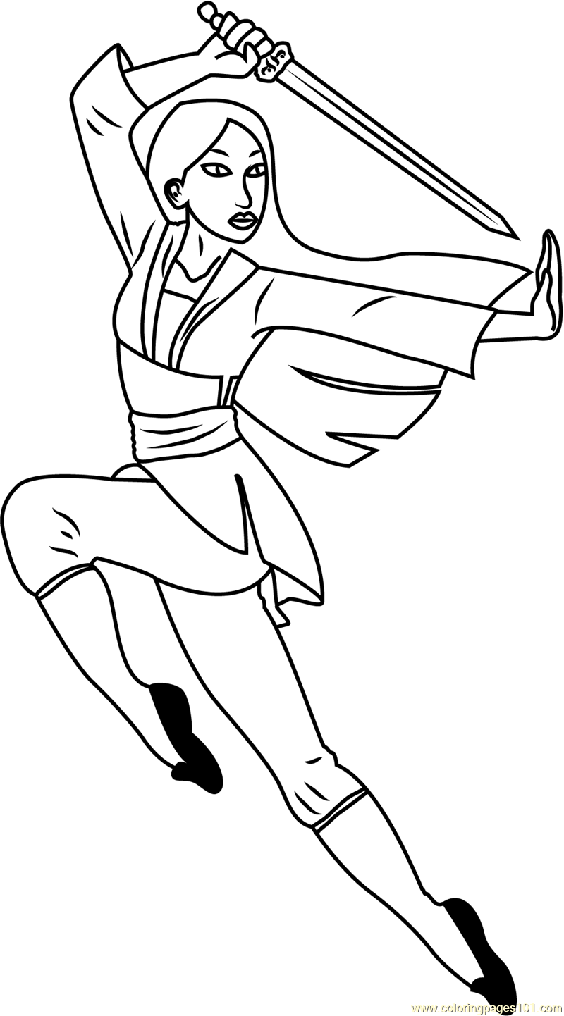 anime girl with swords coloring pages | Anime Sword Coloring Coloring Pages