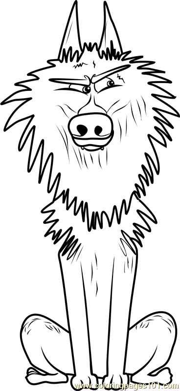 Alpha Wolf Coloring Page Free Storks Coloring Pages