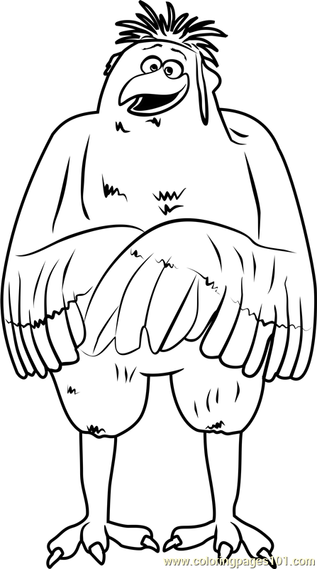 Jasper Coloring Page Free Storks