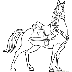 Maximus Free Coloring Page for Kids