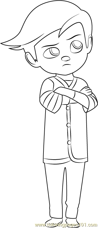 The Boss Baby coloring pages on Coloring-Book.info | 776x336