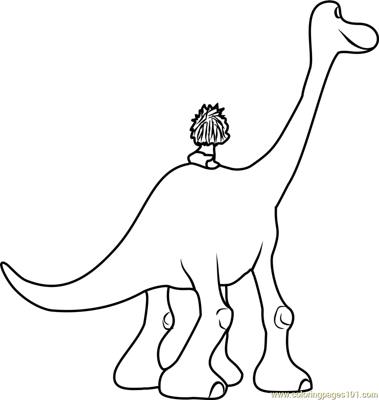 coloring pages the good dinosaur - the good dinosaur coloring page free the good dinosaur