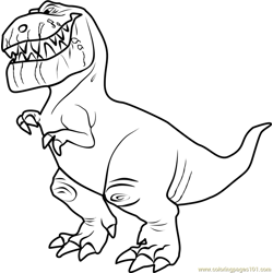 Butch Free Coloring Page for Kids