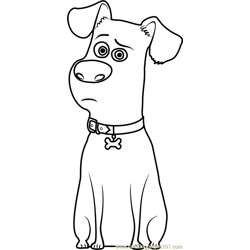 Max Free Coloring Page for Kids