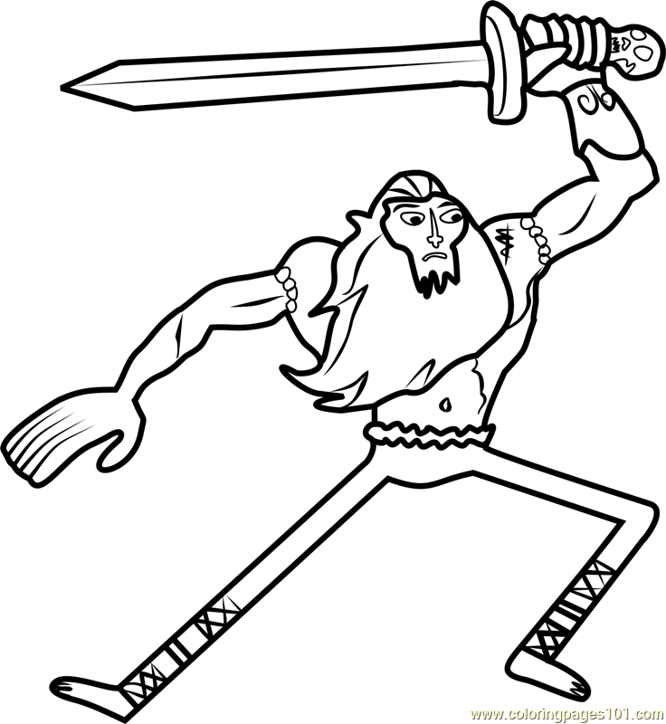Billy Coloring Page  Free Adventure Time Coloring Pages