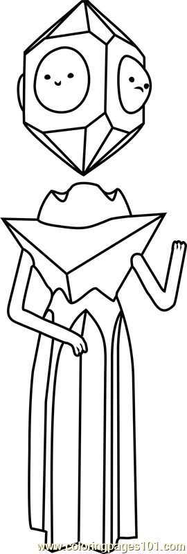 Grob Gob Glob Grod Coloring Page
