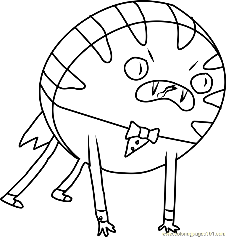 Adventure Time Coloring Pages