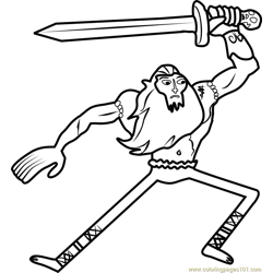 Billy Free Coloring Page for Kids
