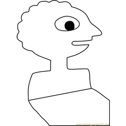 Prismo Free Coloring Page for Kids