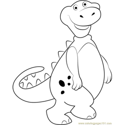 Baloney coloring page
