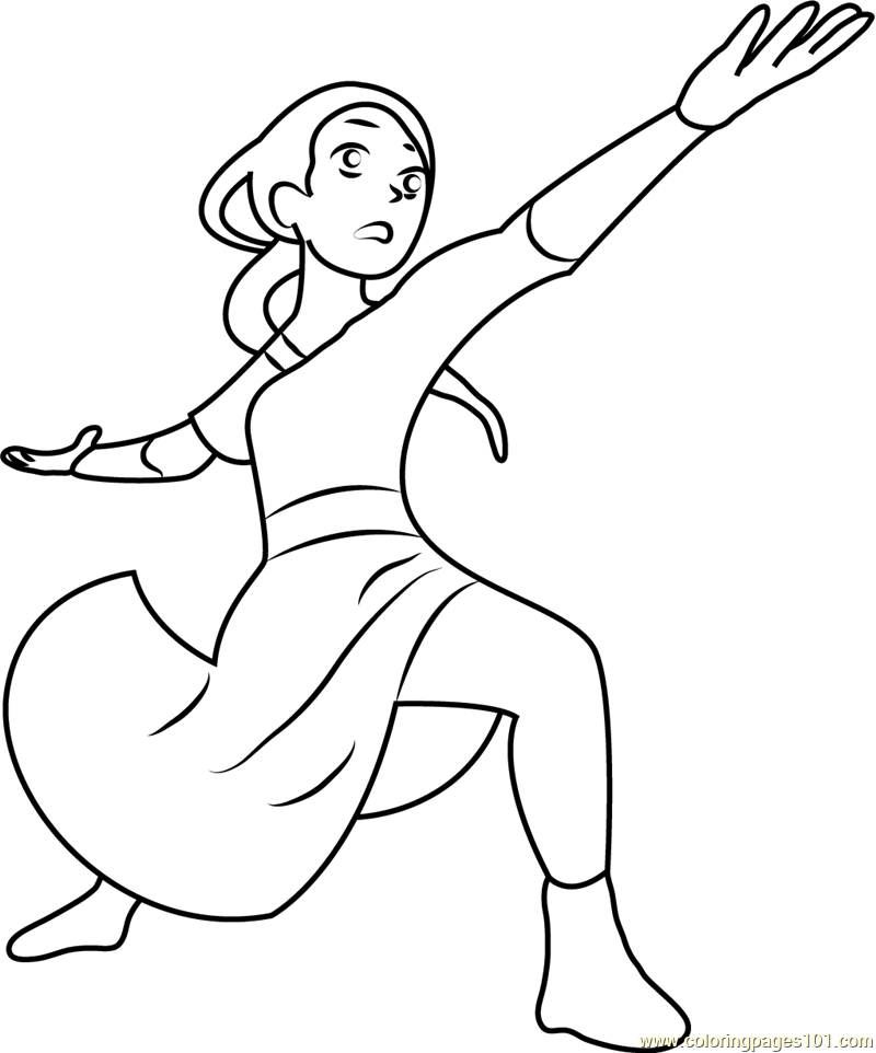 Avatar Movie Coloring Pages: Zuko The Firebender Coloring Page