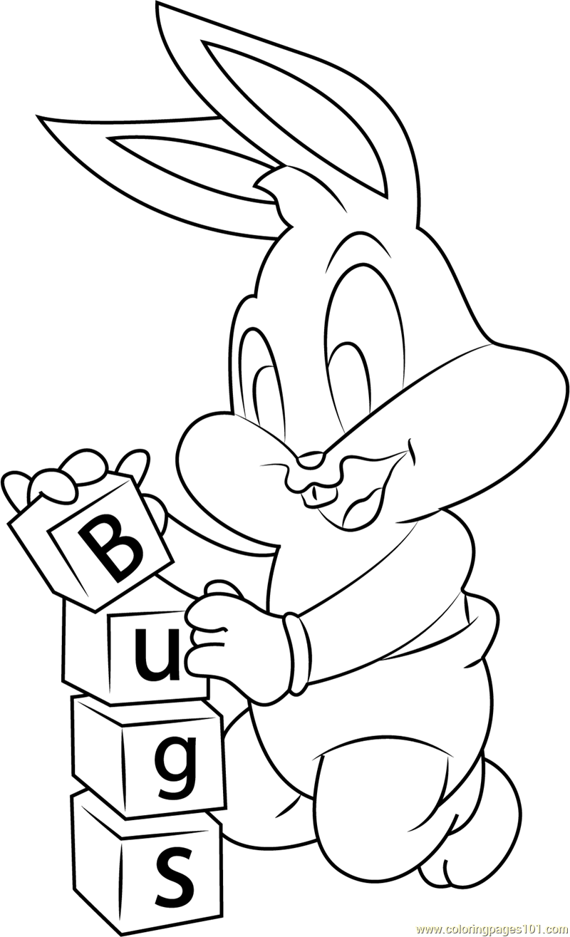 Bugs Coloring Page