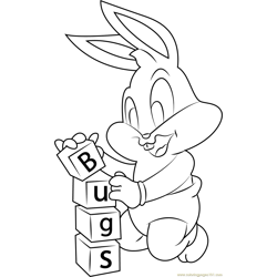 Bugs Free Coloring Page for Kids