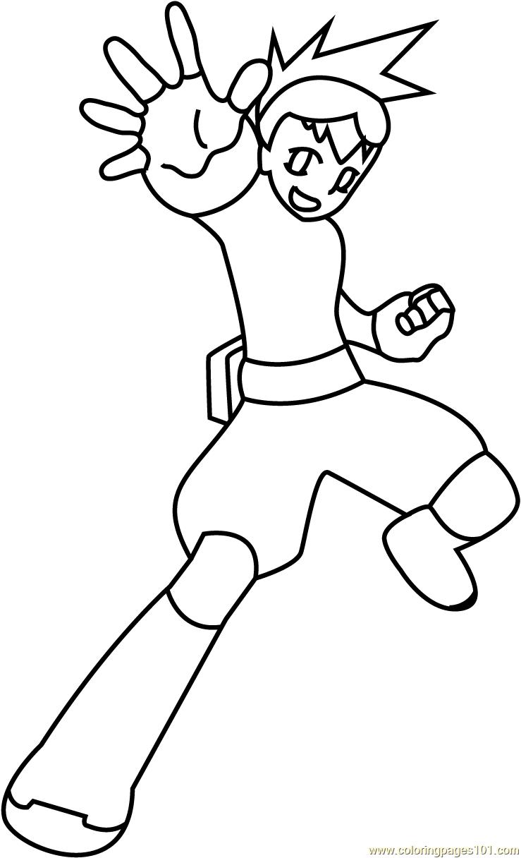 bakugan battle brawlers coloring pages - photo#31