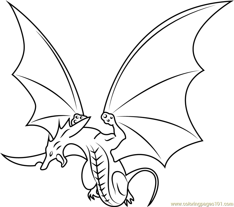 Dragon Coloring Page - Free Bakugan Battle Brawlers ...