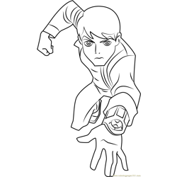 Ben 10 Omniverse Free Coloring Page for Kids
