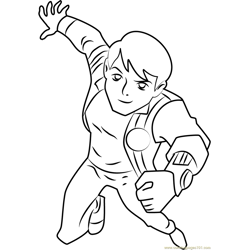 Ben coloring page