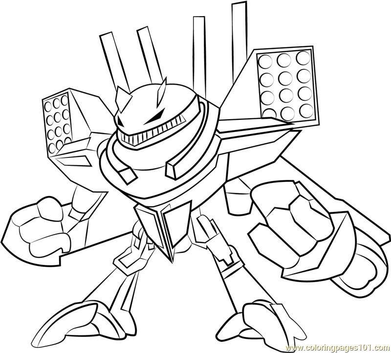 PETAI Coloring Page Free BoBoiBoy Coloring Pages