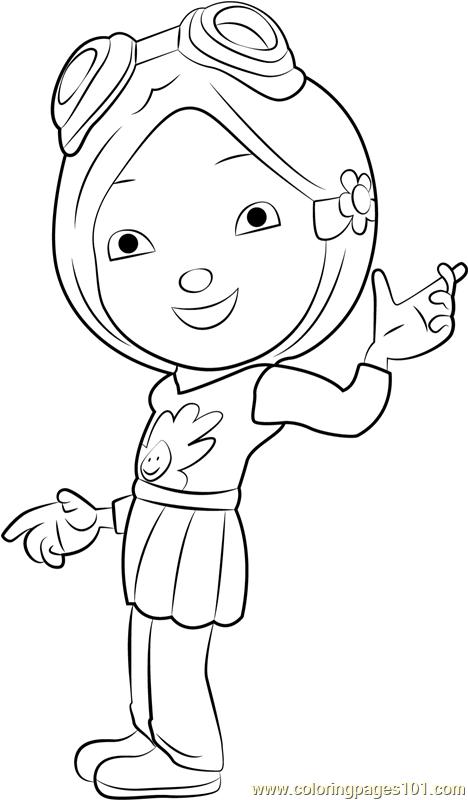 Yaya Yah Coloring Page Free Boboiboy Coloring Pages