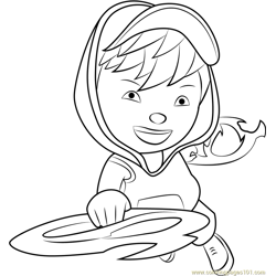 BoBoiBoy Blaze Coloring Page