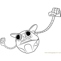 Ochobot coloring page